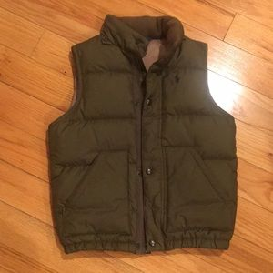 Polo coat vest size S
